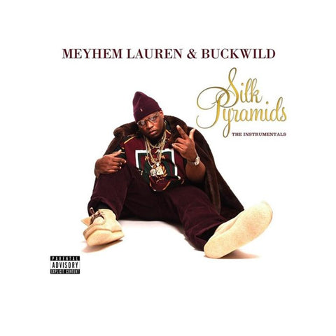 Meyhem Lauren & Buckwild - Silk Pyramids: The Instrumentals [LP]