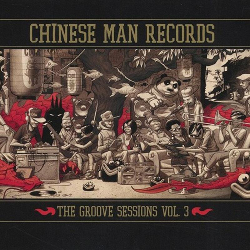 Chinese Man - Groove Sessions Vol. 3 [3LP]