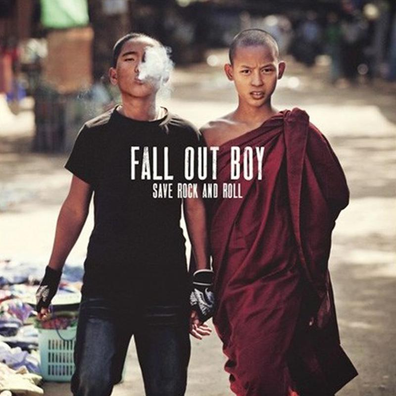 "Fall Out Boy - Save Rock And Roll [2x10""]"