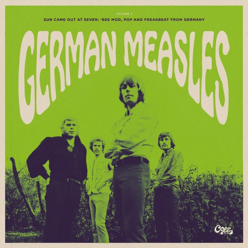 German Measles Vol.2 - Sun Came Out At Seven: '60s Mod,Pop And Freakbeat From Germany [LP]
