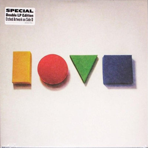 Jason Mraz - Love Is A Four Letter Word [2LP]