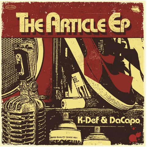 K-Def & DaCapo - The Article [12'' EP]