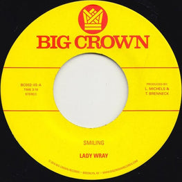 "Lady Wray - Smiling/Make Me Over [7""]"