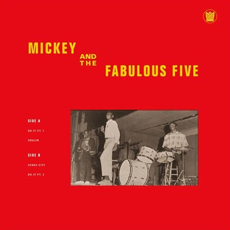 "Mickey & The Fabulous Five - Mickey & The Fabulous Five EP [10""]"