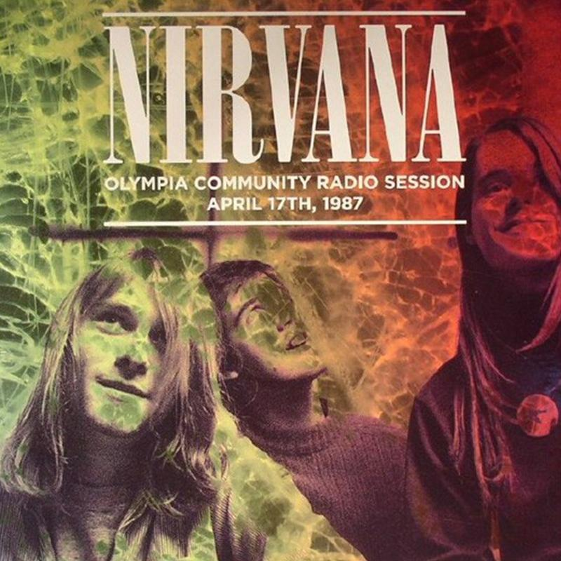 Nirvana - Olympia Community Radio Session, April 17th, 1987 [LP]