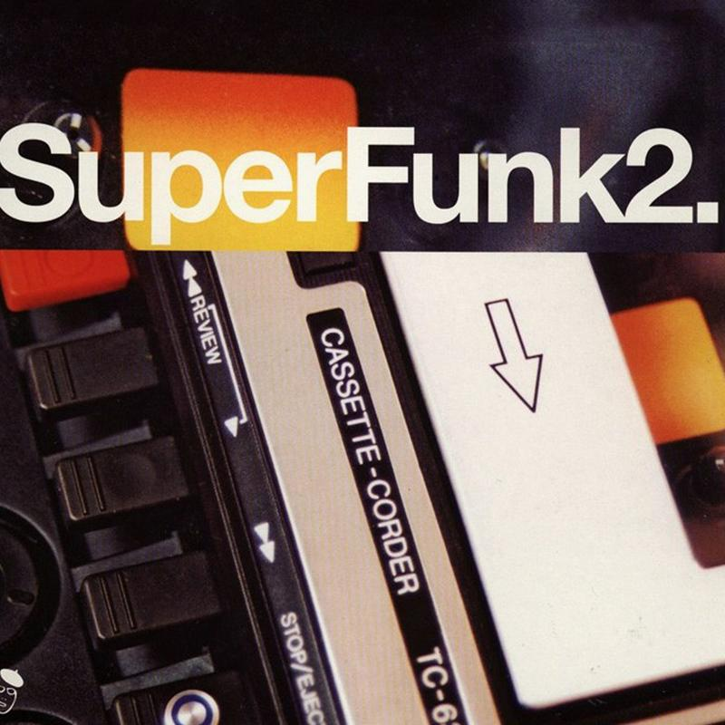 Various Artists - SuperFunk 2: Rare Funk From Deep In The Crates [2LP]