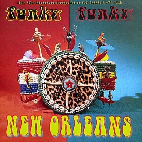 Various Artists - Funky Funky New Orleans Vol. 1: Rare & Unreleased Recordings Of New Orleans 70s Funk [LP]