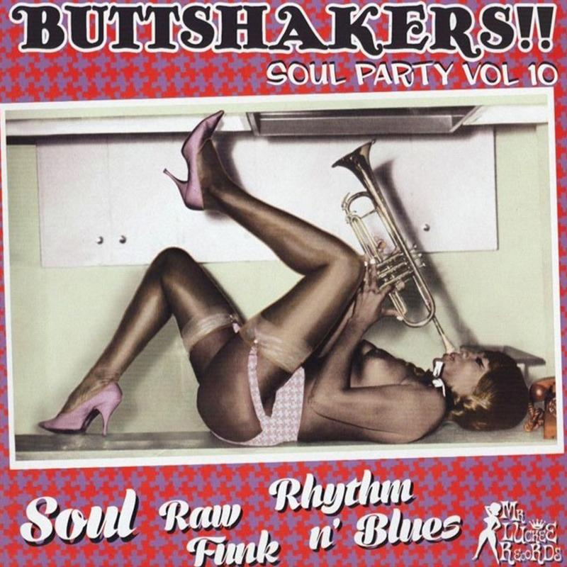 Various Artists - Buttshakers! Soul Vol. 10 [LP]