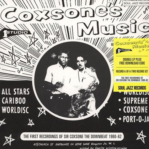 Various Artists - Coxsone's Music: The First Recordings Of Sir Coxsone The Downbeat 1960-62: Record A [2LP]