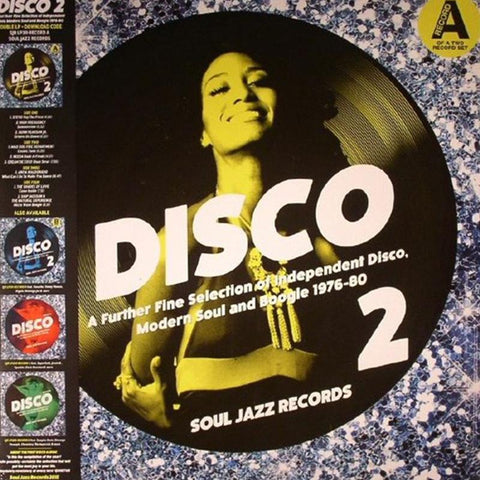 Various Artists - Disco 2: A Further Fine Selection Of Independent Disco, Modern Soul And Boogie 1976-80 Record A [2LP]
