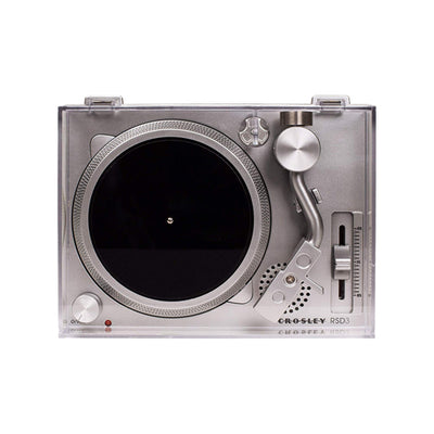 "Crosley RSD3 | 3"" Battery powered mini turntable"