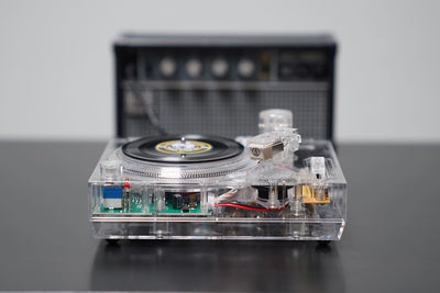 "Crosley RSD2020 Mini 3"" Turntable Clear ""Limited Edition"""