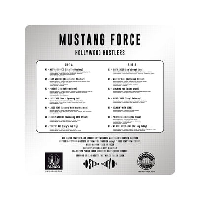 Hollywood Hustlers | Mustang Force 12""