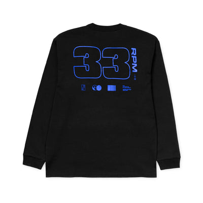 33RPM  Long Sleeve Tee