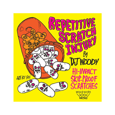 Repetitive Scratch Injury | DJ Woody 7""