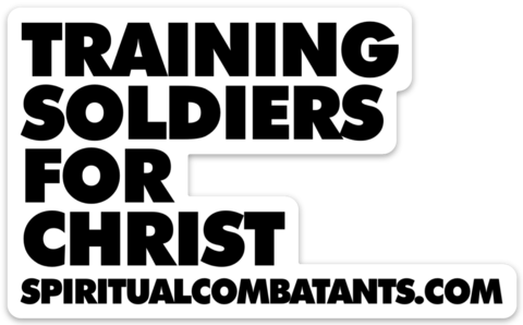 Training Soldiers Sticker