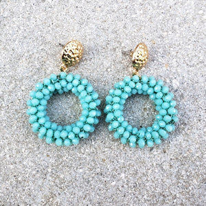 Maia Turquoise Drop Earrings