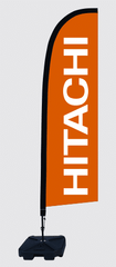 hitachi feather banners flags