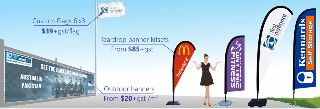 teardrop banner flags homepage image