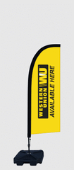 western union feather banners flags