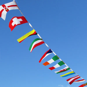 Custom Flag Bunting - 20m Long