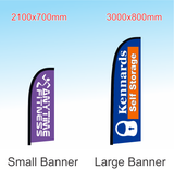 Feather Banner Only