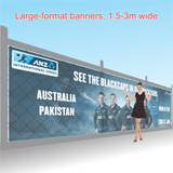 Large Format Mesh Banners