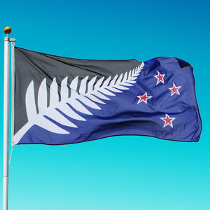 Silver Fern Flag - Lockwood Proposed New Zealand Flag