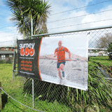 Fence Wrap Mesh Banner