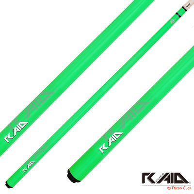 Raid Cues Colorz S CS-05 Green - Thailand Cue Sports