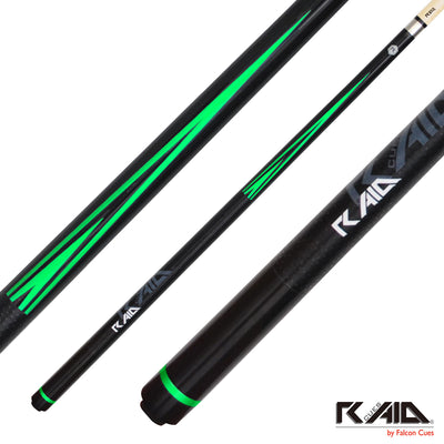 Raid Cues Colorz H CH-04 Green - Thailand Cue Sports
