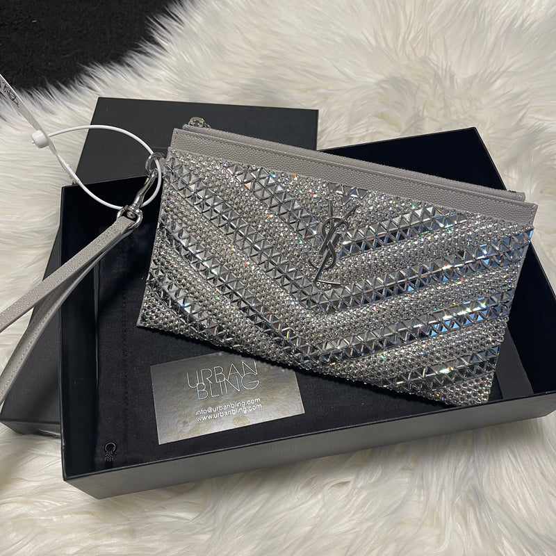 BNWB SAINT LAURENT Bill Pouch Wristlet