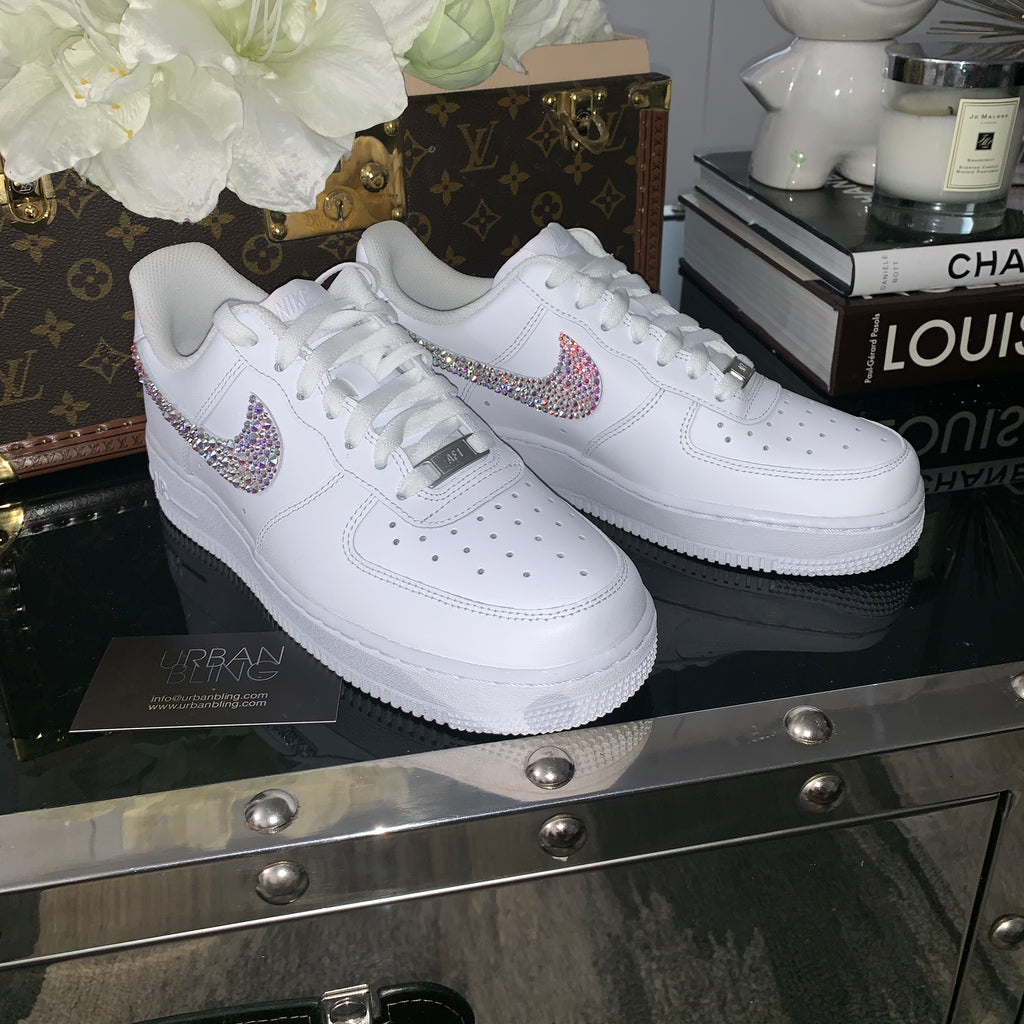 Swarovski Swoosh Nike Air Force 1 07 LE Low
