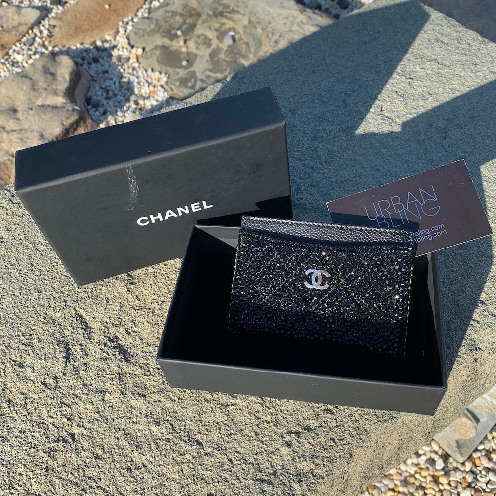 Black Chanel Card Holder