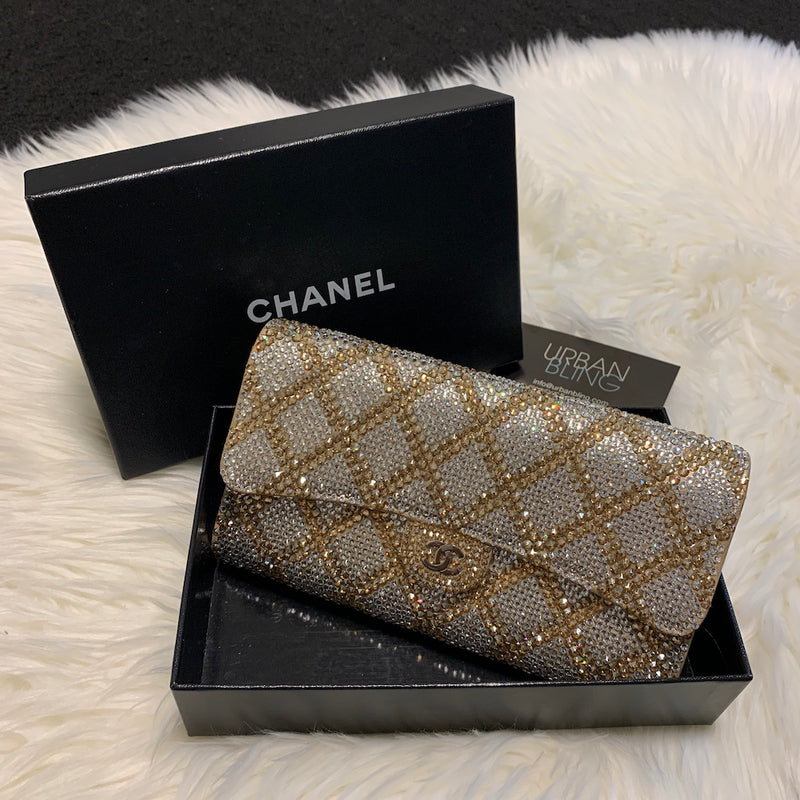 Beige Chanel Wallet