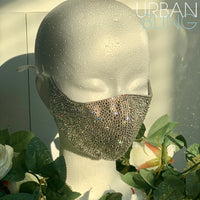 Custom Swarovski Face Mask