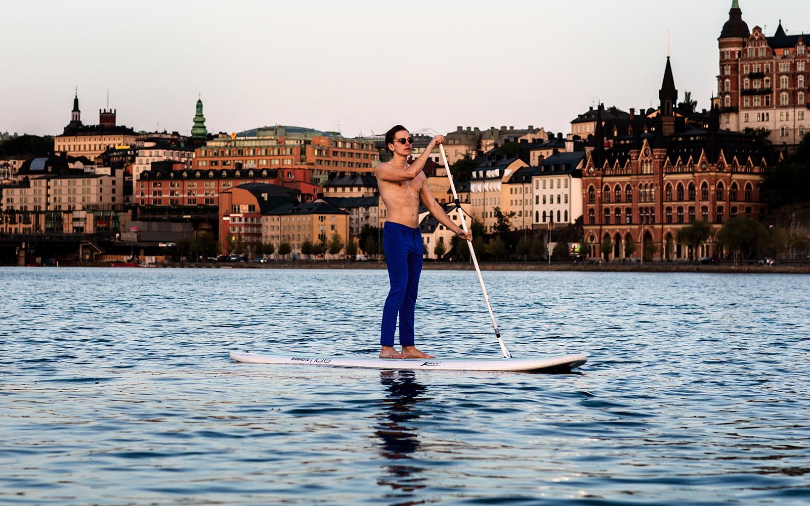 The Pants by åäö, surfing in central Stockholm