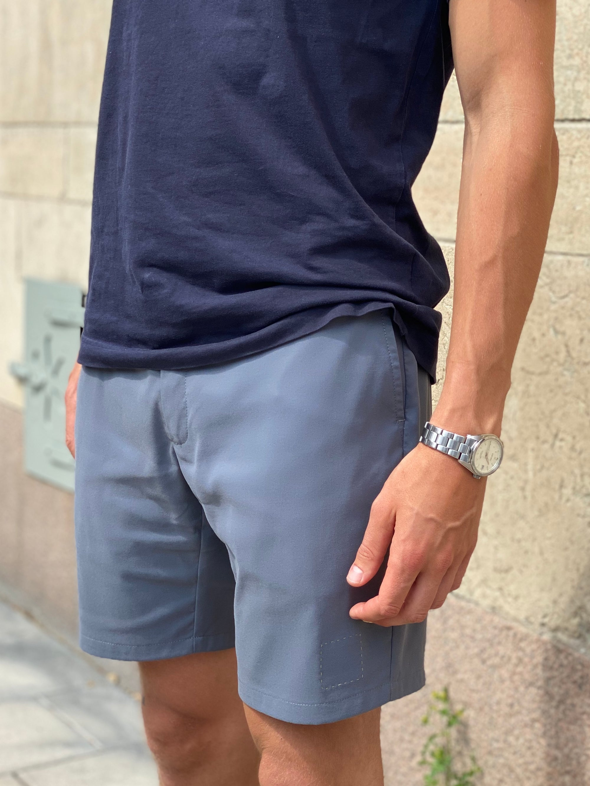 The Shorts in Hazy Day Blue
