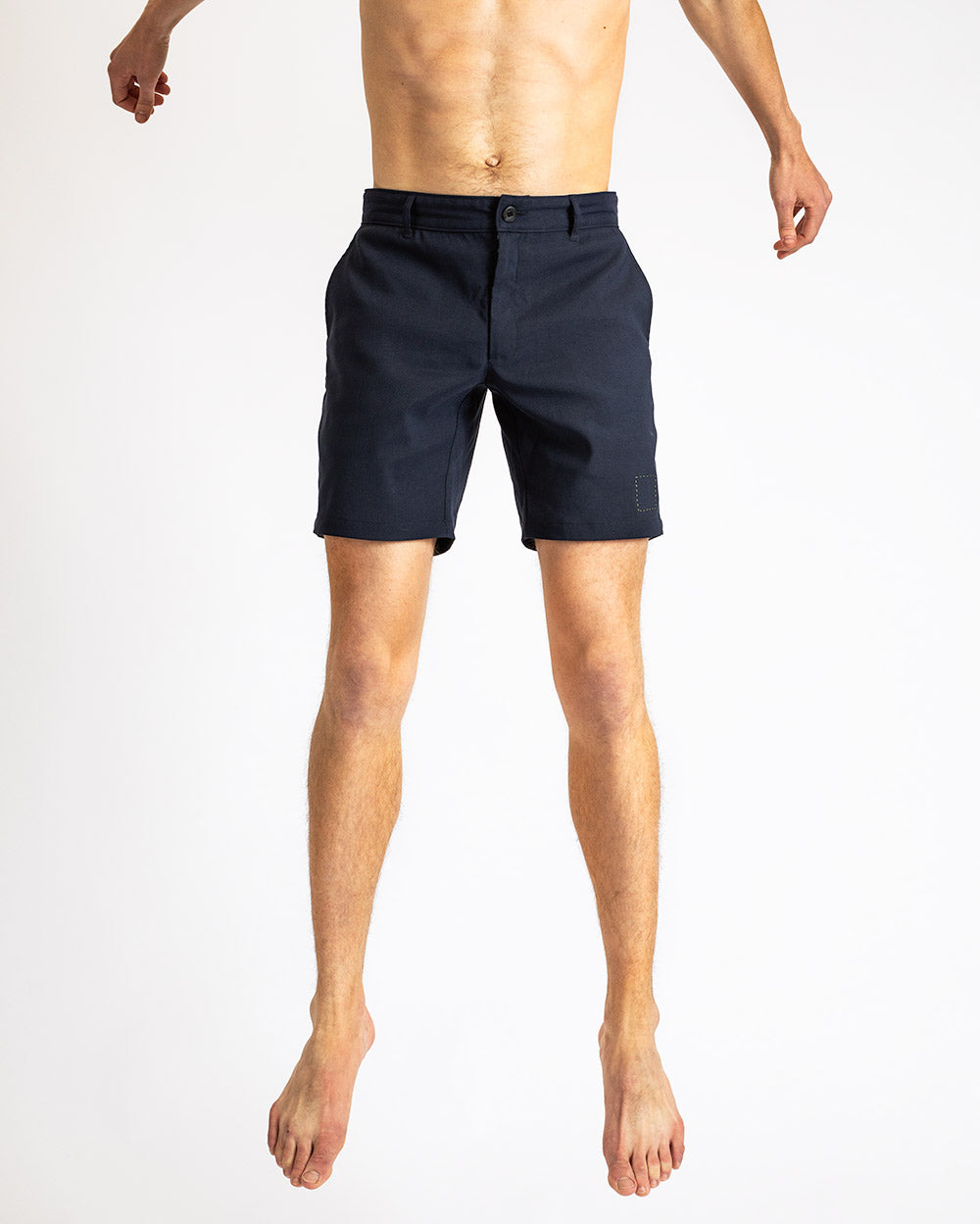 The Shorts in Deep Blue