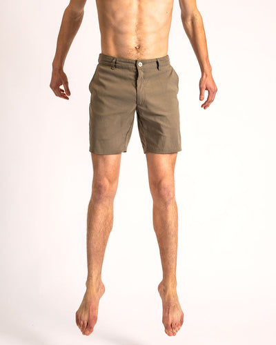 The Shorts in Dusty Desert