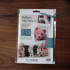 Go Handmade Teddy Family Crochet Pattern