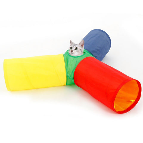 Rainbow Kitty Tunnel