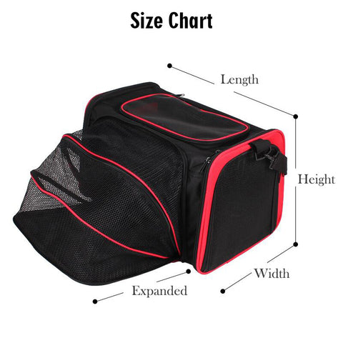 Expandable Sling Pet Carrier Bag and Car Seat