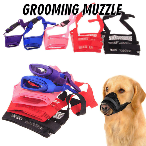 Dog Grooming Muzzle