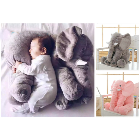 Plush Elephant Soft Sleeping Cushion