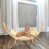 Wooden Cat Bed Hammock
