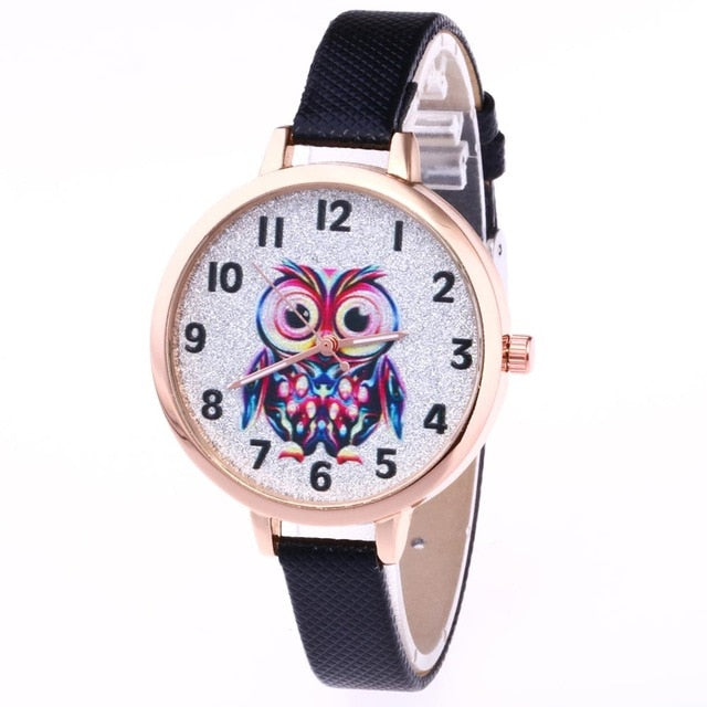 Owl Girl Cute Watches  Bracelet Watches Owl - 33Blue