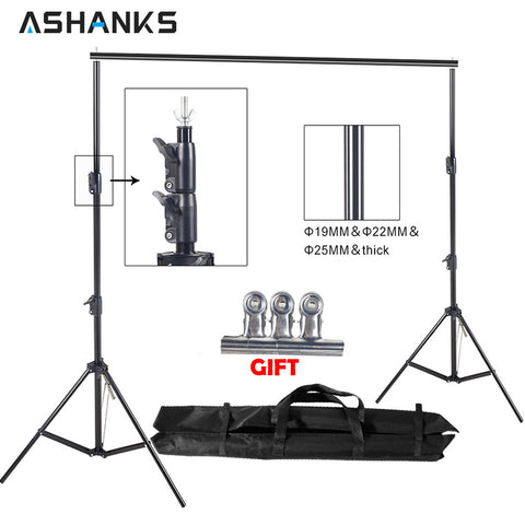 8.5ft*10ft Background Stand Pro Photography Video Photo Backdrop Support System for F - 33Blue
