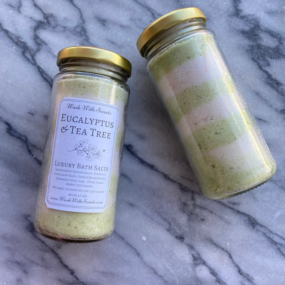 Eucalyptus & Tea Tree ~ Luxury Bath Salts