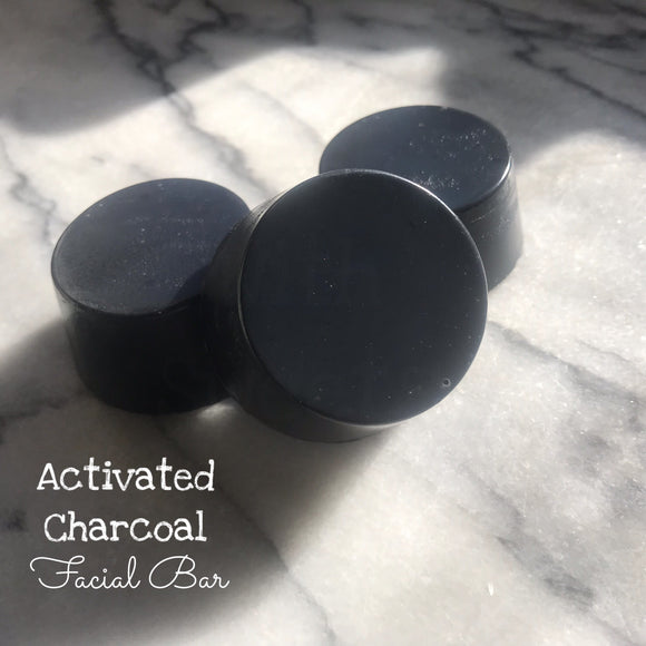 Activated Charcoal ~ Facial Bar Soap